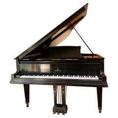 1913 Satin Ebony Steinway A3 Grand Piano 88 keys
