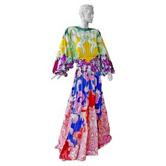 Valentino Artist Inspired Head Turning Fabulous Dress Gown NWT