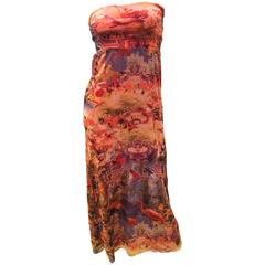 Jean Paul Gaultier Soleil Summer Skirt / Sun Dress