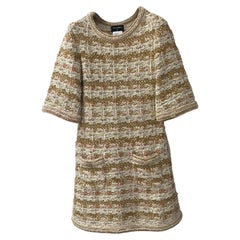CHANELParis-Dubai Knit Tweed Dress