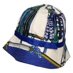 Hermés 1960s Passementerie Scarf Hat