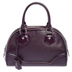 Louis Vuitton Cassis Epi Leather Montaigne PM Bag