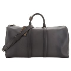 Louis Vuitton Keepall Bandouliere Bag Ombre Leather 50