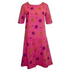 Vintage Marimekko Pink Dress