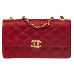 Chanel, Vintage in red silk