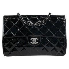 Chanel, Vintage in black leather