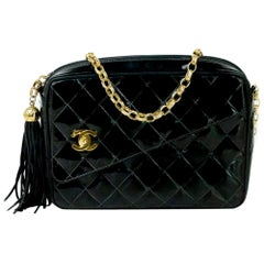 Chanel, Camera in black patent leather