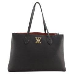 Louis Vuitton Lockme Shopper Tote Leather