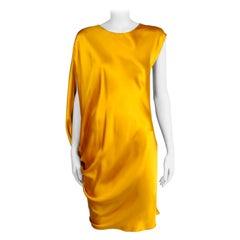 "Lanvin By Aber Elbaz ""Les 10 Ans"" Draped Cocktail Dress, Fall-Winter 2012"