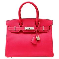 Hermès Rose Candy Collection Epsom 30 cm Birkin Bag