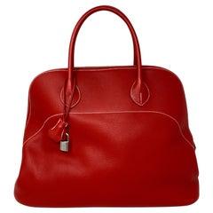 Hermes Red Boilde Bag