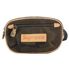 Louis Vuitton Bum Bag Limited Edition Supreme Camouflage Canvas