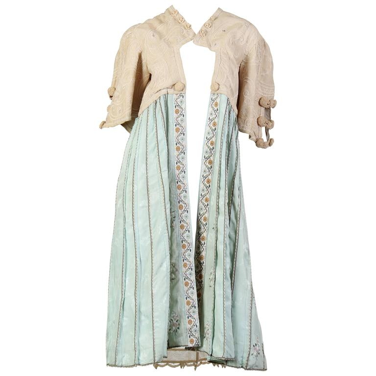 Edwardian Embroidered Jacket with Antique Chinese Embroidery