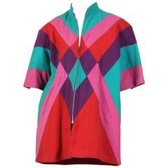 Kansai Yamamoto Patchwork Jacket Dress