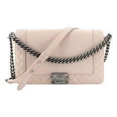 Chanel Reverso Boy Flap Bag Calfskin New Medium
