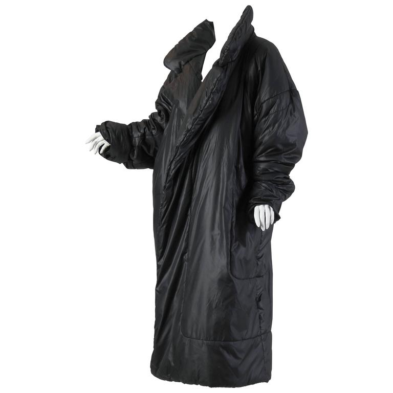 Iconic Norma Kamali Sleeping Bag Coat