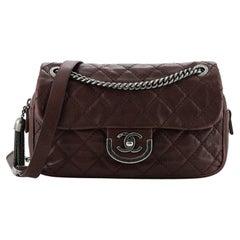 Chanel Paris-Edinburgh Coco Sporran Flap Bag Quilted Calfskin Medium