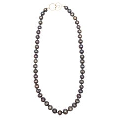 Freshwater Bronze-Grey Pearl Necklace