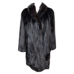 Unused mink fur coat size 16
