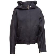 Phillip Lim Navy 3.1 Hooded Jacket