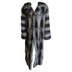 Brand new John galliano chinchilla fur coat