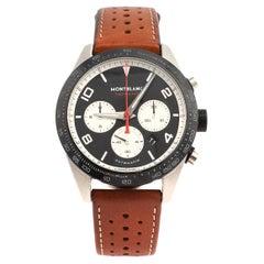 Montblanc Black Ceramic Timewalker 119942 Automatic Men's Wristwatch 43 mm