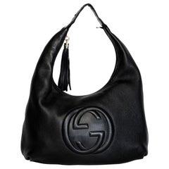 Gucci Soho Black Leather Shoulder Bag