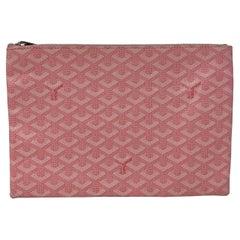 Goyard Pink Clutch