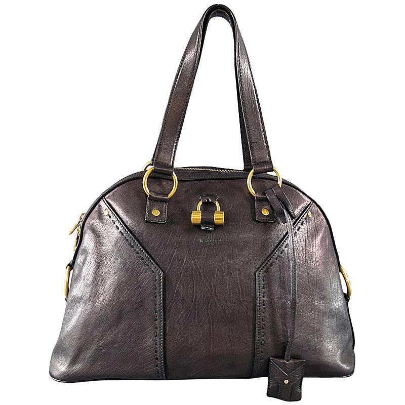 Yves Saint Laurent Leather Tote Fake Yves Saint Laurent Bags
