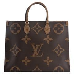 New Louis Vuitton Monogram On The Go Tote Bag