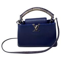 Louis Vuitton Capucine Python Bag