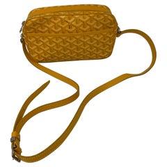 Goyard Yellow Crossbody Bag
