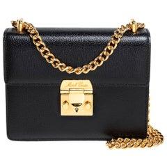 Mark Cross Black Leather Zelda Crossbody Bag