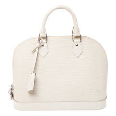 Louis Vuitton Ivorie Epi Leather Alma PM Bag