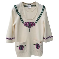 Chanel Bombay Cashmere Sweater