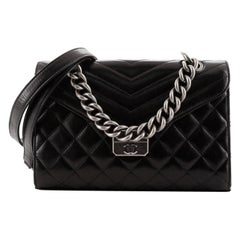 Chanel Mad About Quilting Flap Bag Quilted Calfskin Medium