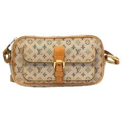 Louis Vuitton Vintage Mini Lin Juliette Crossbody Bag (TH0040)