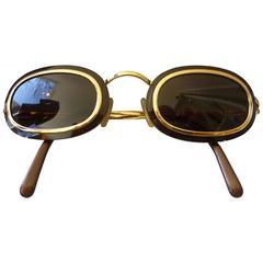 Rare Vintage Christian Dior Sunglasses with Original Case
