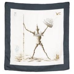 Salvador Dali Don Quichotte Silk Scarf
