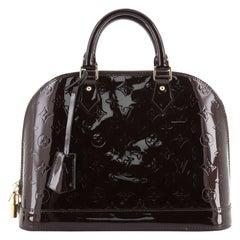 Louis Vuitton Alma Handbag Monogram Vernis PM