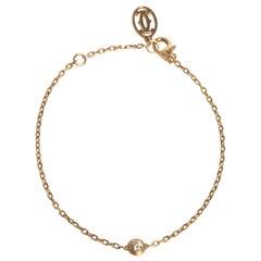 Cartier Diamants Légers De Cartier Diamond 18K Yellow Gold Bracelet SM