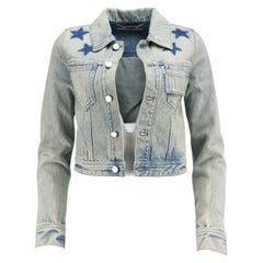 Givenchy Cropped Denim Jacket IT 36 UK 4