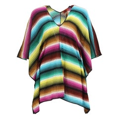 Missoni Mare Crochet Knit Kaftan IT 40 UK 8