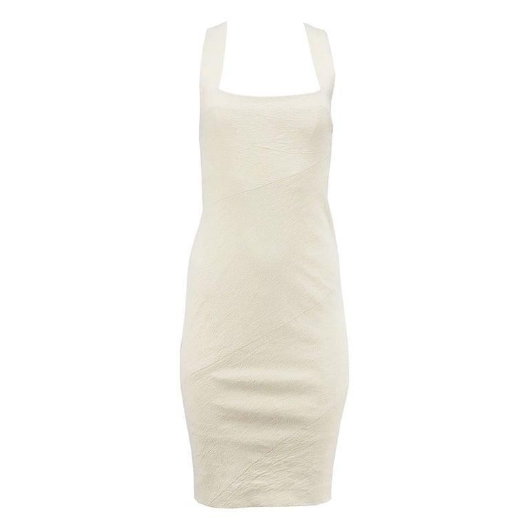 Donna Karen New York Stretch Linen Blend US 6 UK 10 For Sale