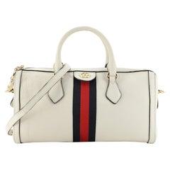 Ophidia Boston Bag Leather Medium