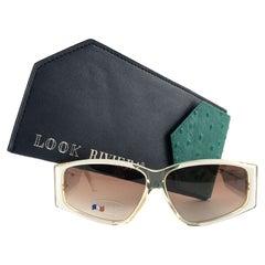 "New Vintage Look Riviera "" CONCORDE "" Translucent Sunglasses France"
