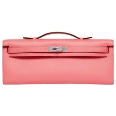 Hermès Rose Azalee Kelly Cut