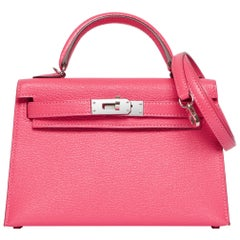 Hermès Kelly 20cm Rose Lipstick