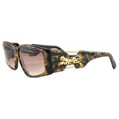 """New Vintage Look Riviera """" PALACE """" Medium Tortoise Sunglasses France"""