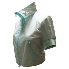 Y-3 Yohji Yamamoto Mint Cheerleader Jacket
